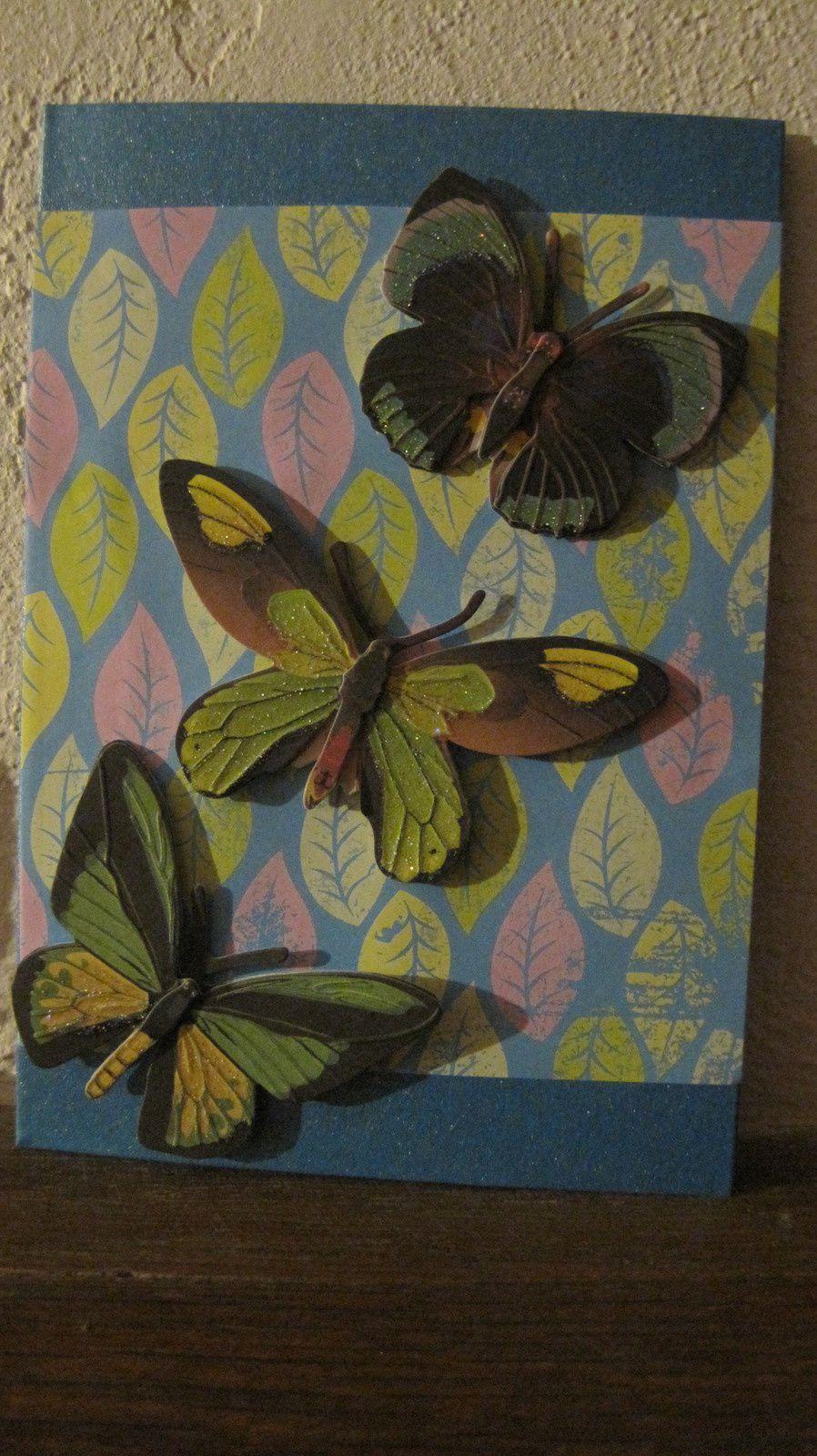 Papillons d'hiver.
