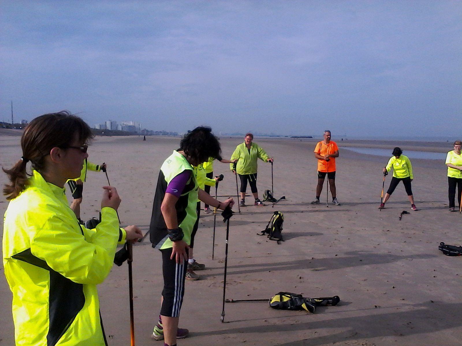 Sortie du dimanche 12 octobre à la plage, dans la dune Dewulf