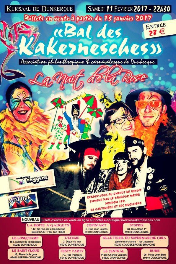 Le bal des Kakernesches week-end des 11 et 12 février