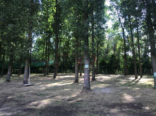 Repérage au parc Galamé à Loon-Plage