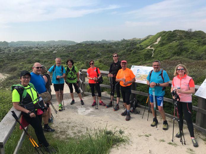 Sortie dans les dunes le 21 mai