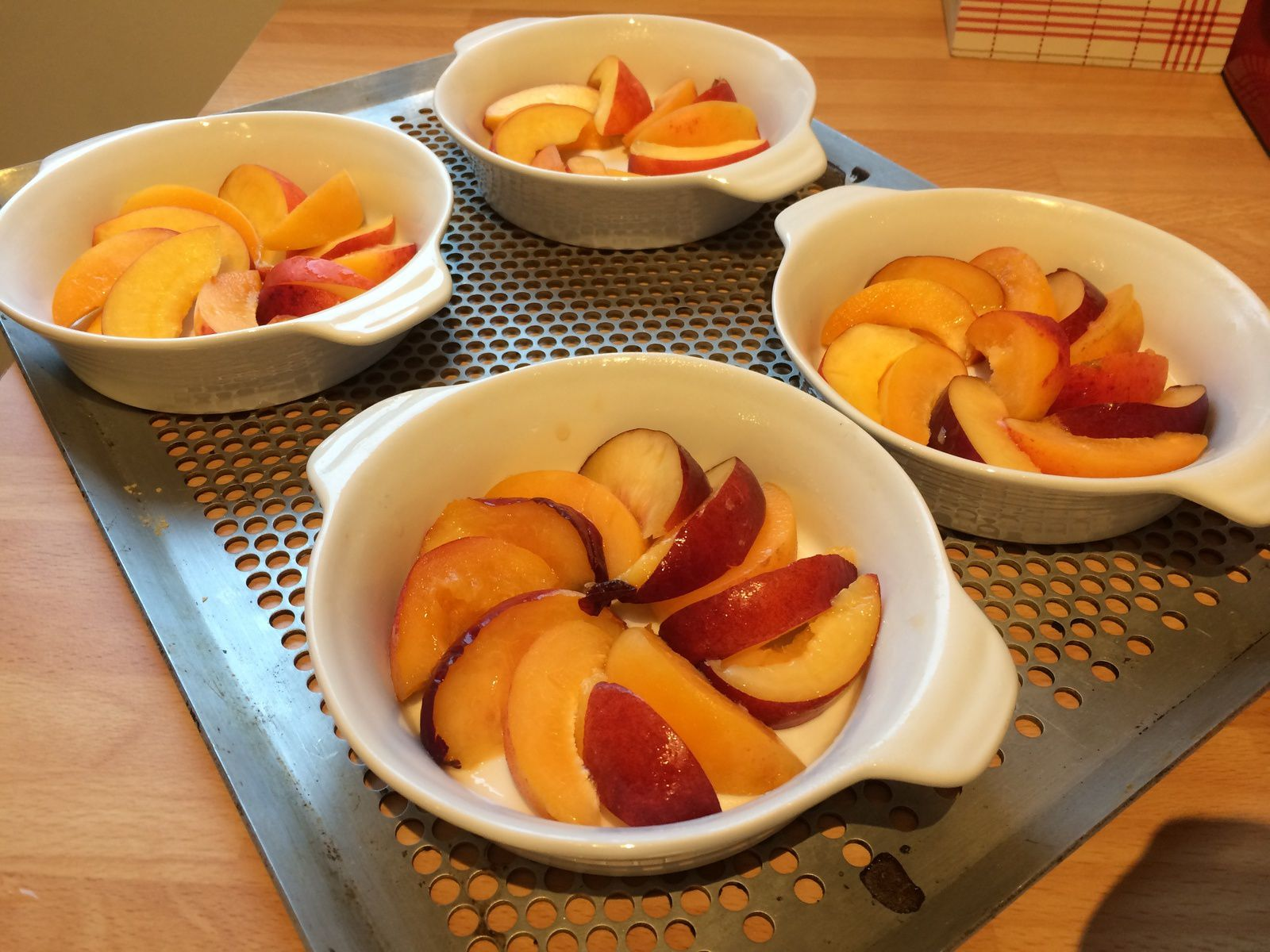 Nectarines et abricots....