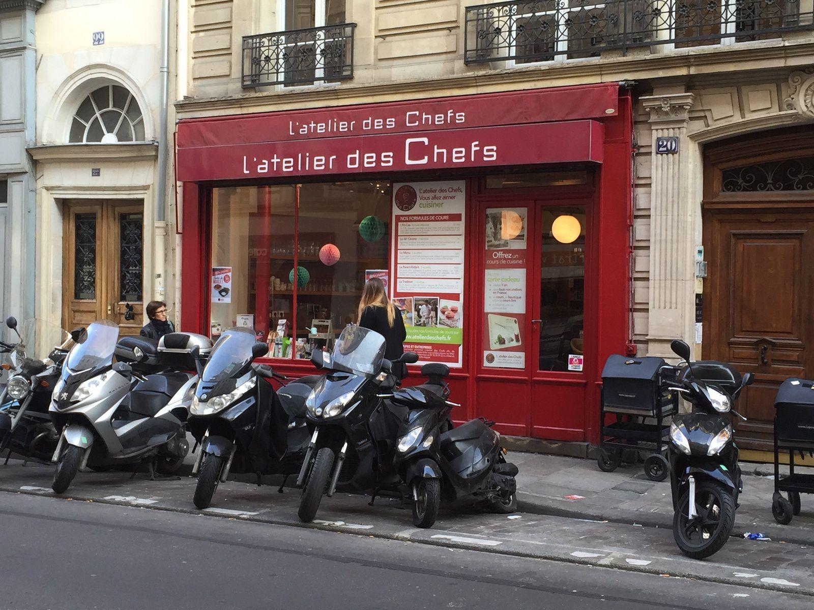 L'Atelier des Chefs dans le 9 ème à Paris....