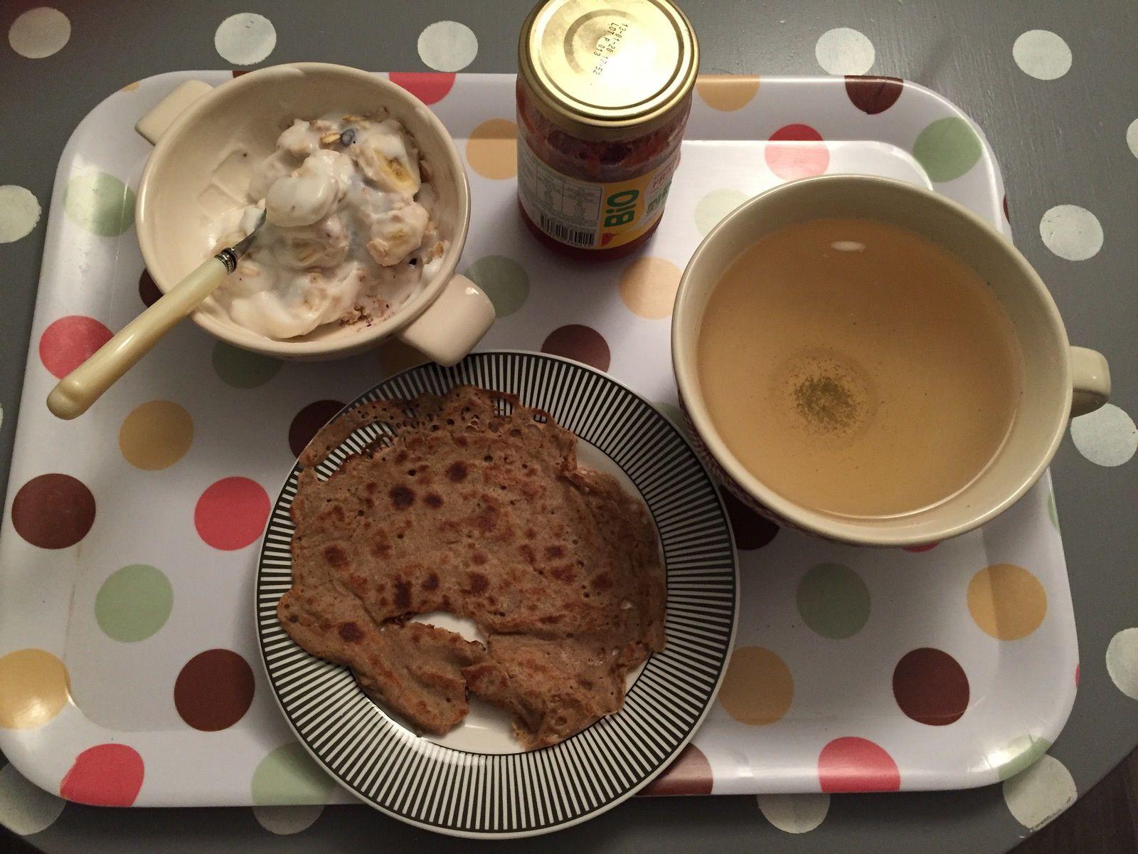 mon petit déjeuner.....