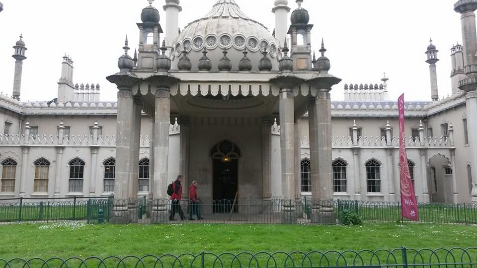 We went to London and did sightseeing &#x3B; we went on a cruise on the Thames and visited Madame Tussaud's museum.Then we went to Brighton and visited the Royal Pavilion.