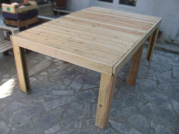 Emejing Table Jardin Palette Tuto Contemporary - Amazing House ...