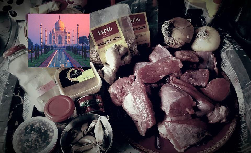Curry Madras au Boeuf (cookeo)