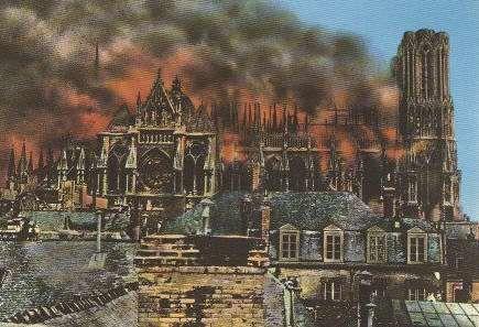 La Guerre. Dès le 19 septembre, Reims vivra l'enfer.