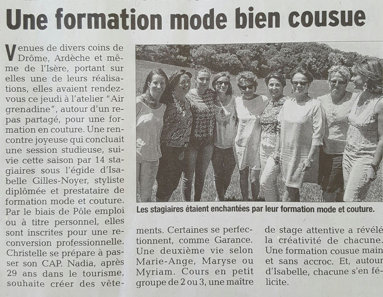 formation couture pro