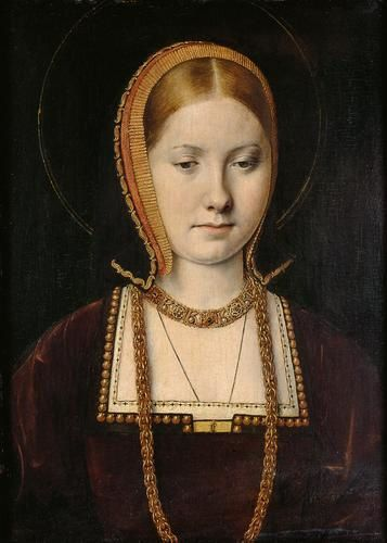 Catalina de Aragón en 1502. Pues sí que era mona, sí.
