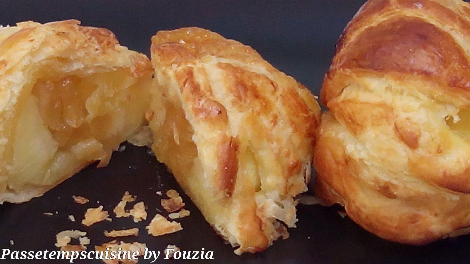 Feuillet s de pommes aux pommes passetempscuisine - Feuillete aux pommes caramelisees ...