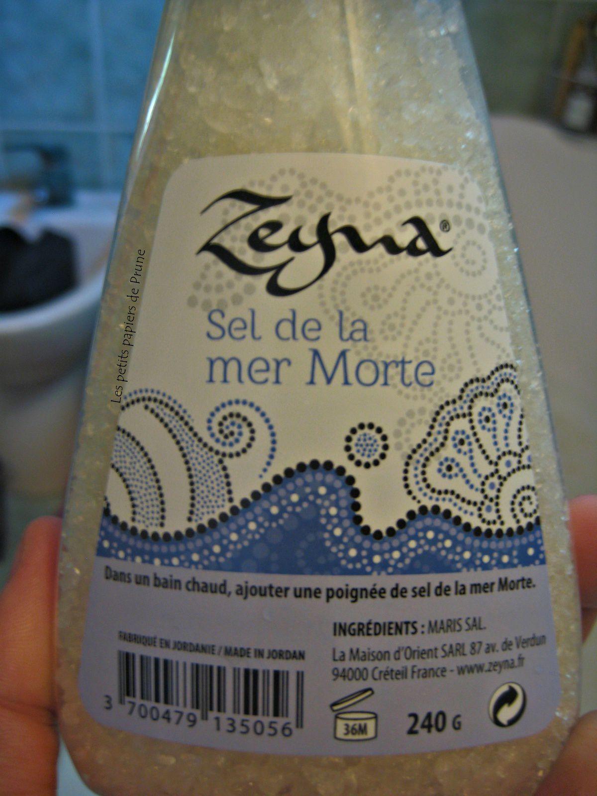 Zeyna - Sel de la mer morte