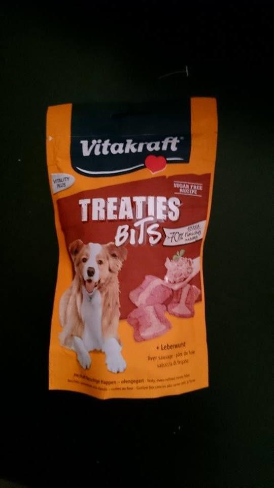 Son coup de COEUR <3 (Que j'aimerais trouver) - Friandises VITAKRAFT - Treaties Bits (Une odeur qui donne envie même pour nous humains).