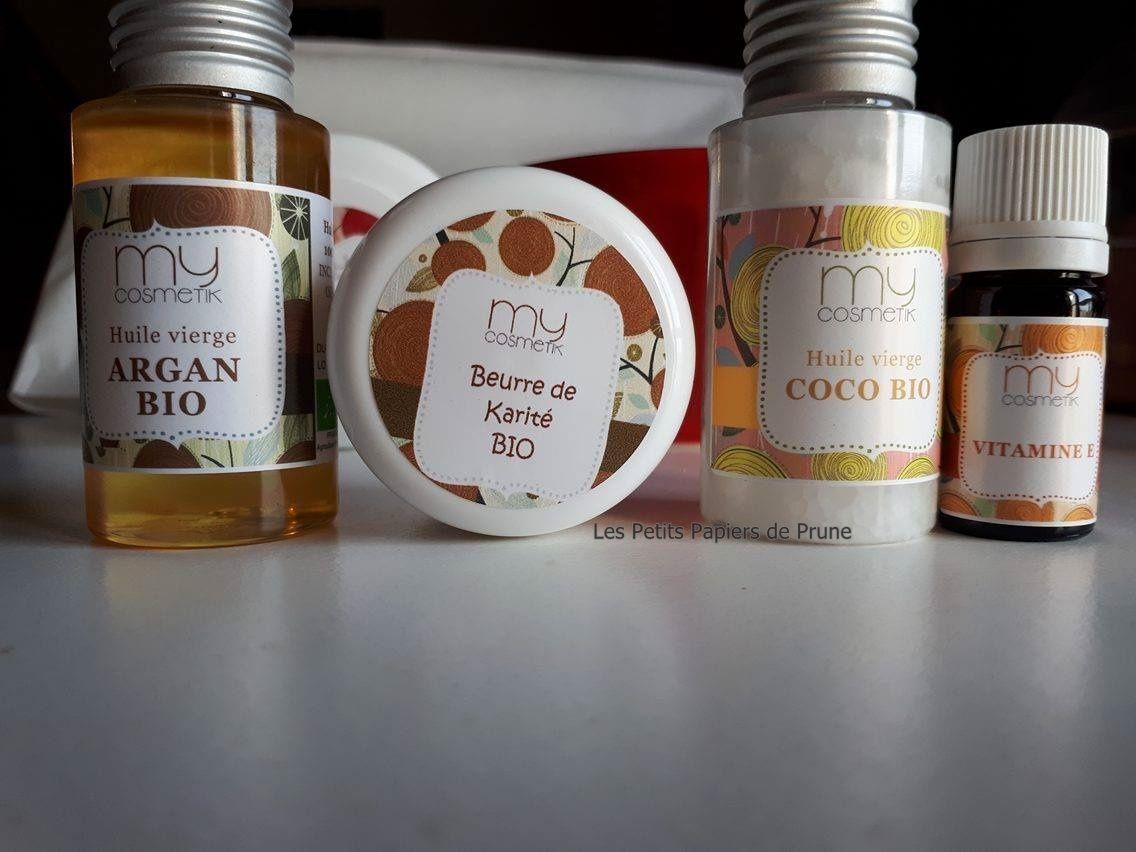 Baume Capillaire Avant Shampoing Argant/ Karité / Coco #MyCosmetik10