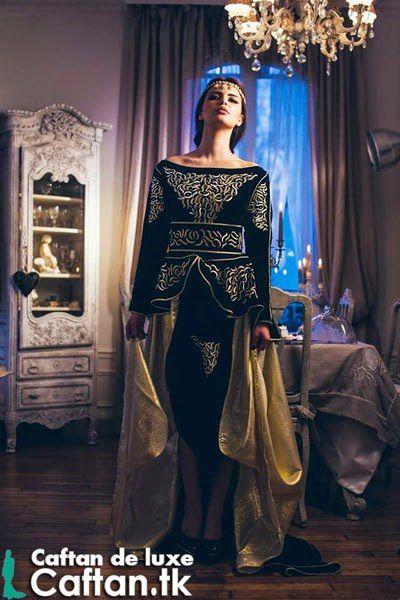Caftan marocain royal haute couture