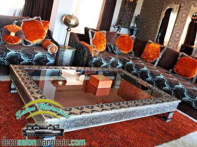 Salon marocain nouvelle création 2014