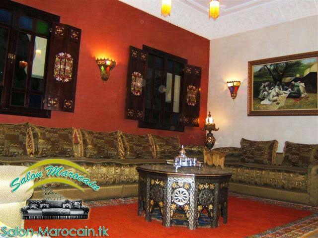 location salon marocain cuivrique
