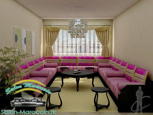 salon marocain qualité