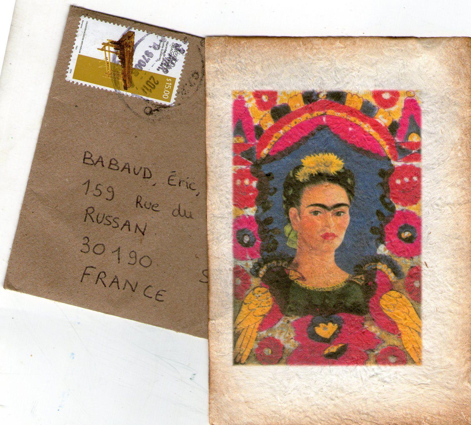 Frida Kahlo dans ma boite