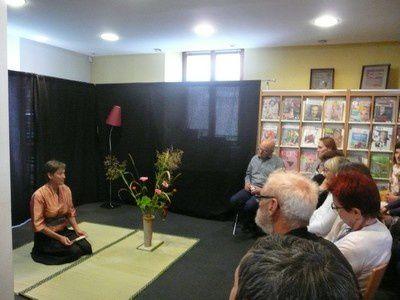 Atelier et Cérémonie d'Ikebana