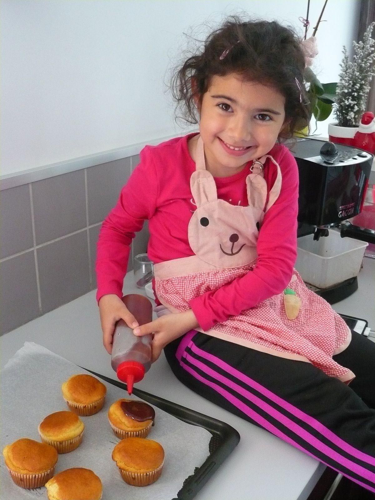 Mini-cake au chocolat façon Mathilde