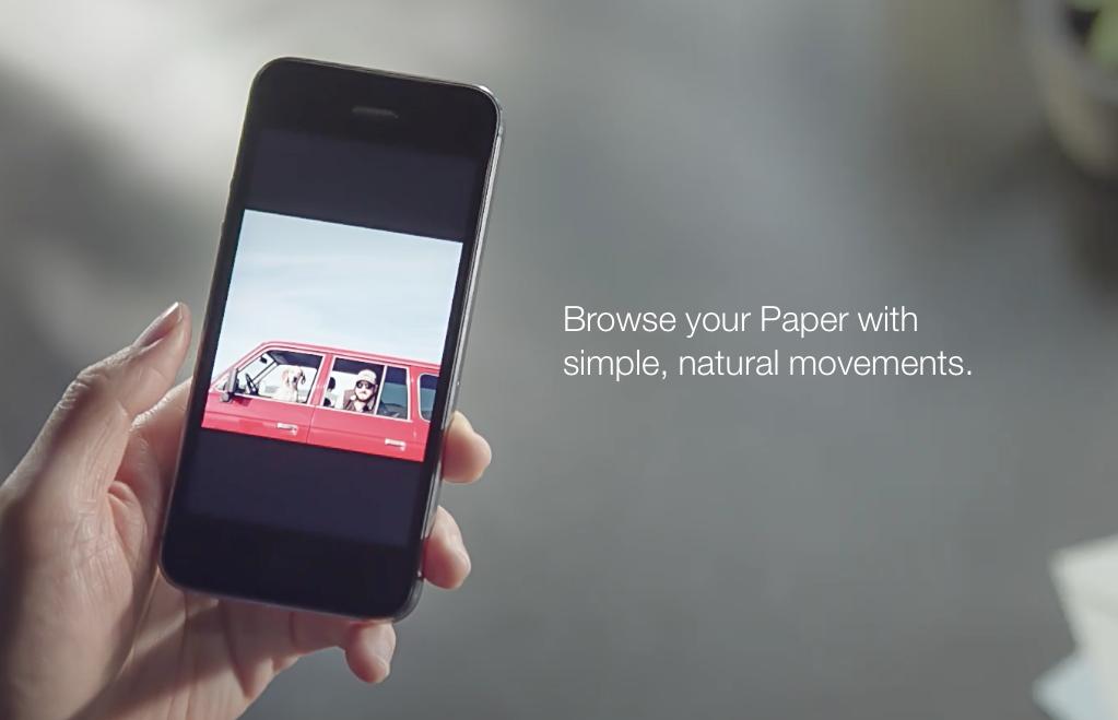 Facebook annonce le lancement de Paper, un sérieux concurrent de Flipboard