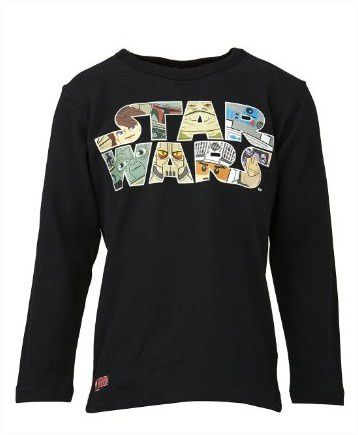 t shirt manches longues lego star wars enfant 100 coton. Black Bedroom Furniture Sets. Home Design Ideas