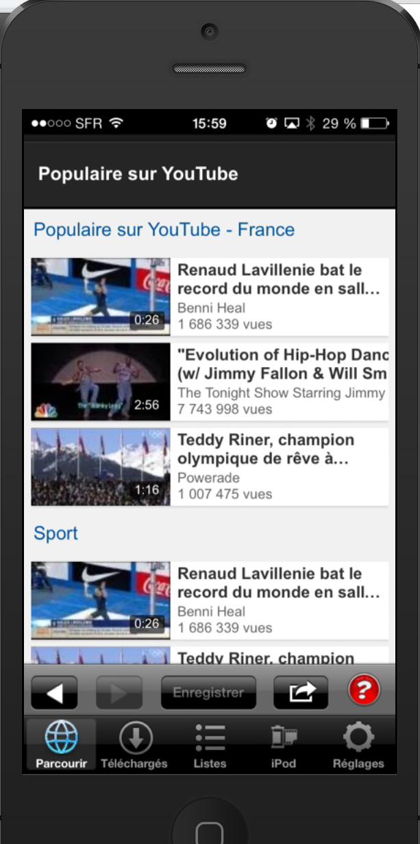 Vdownloader+ : l'application pour télécharger des vidéos Youtube sur votre iPhone ou iPad