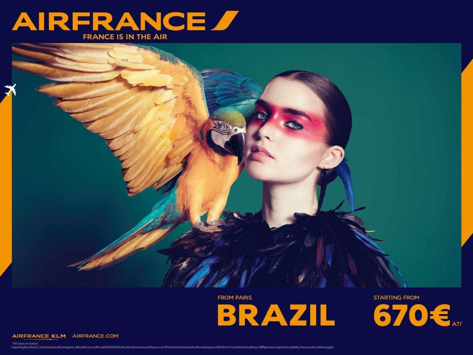 Air France change d'image et de signature avec BETC