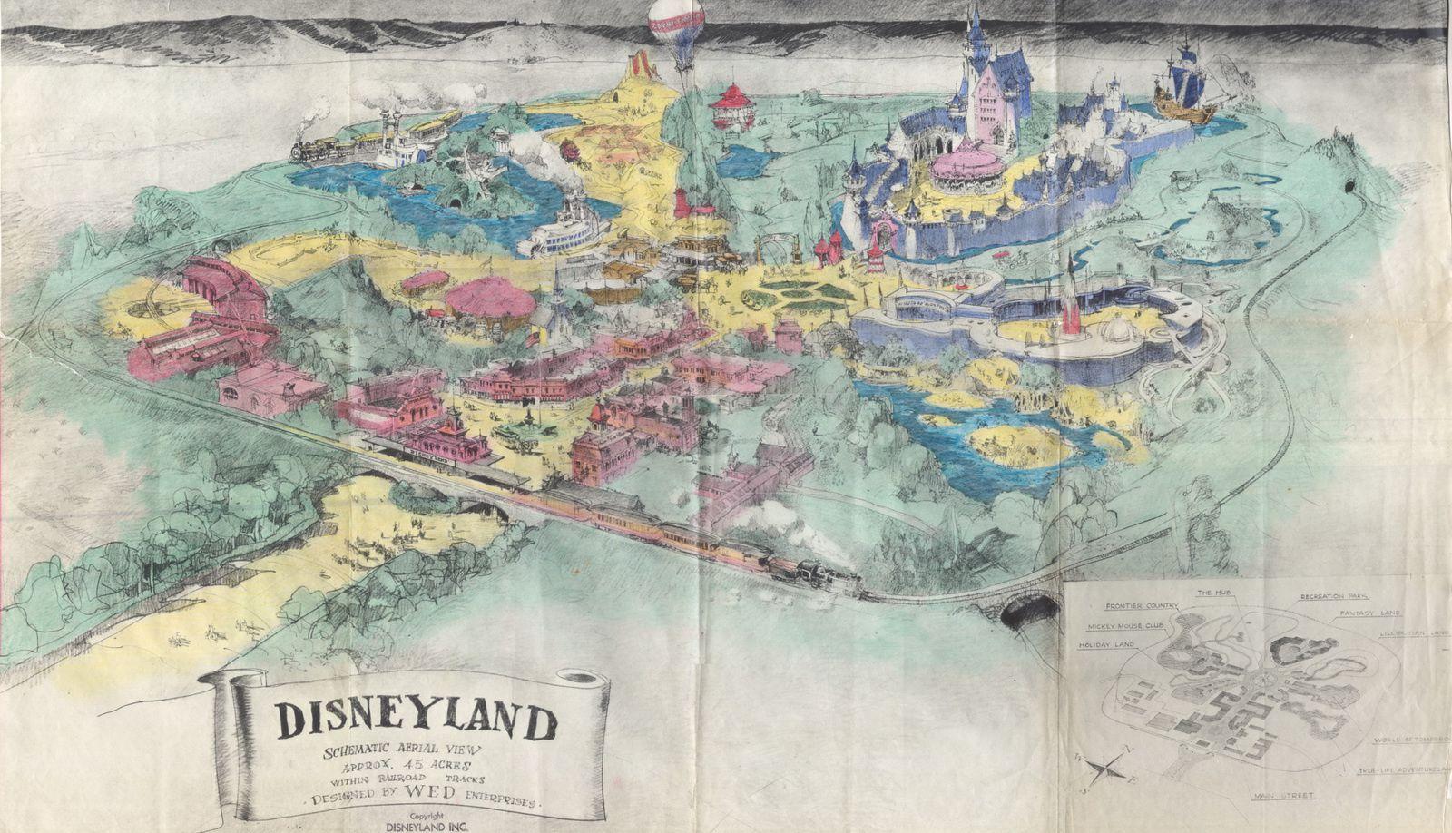 Le prospectus original de Disneyland rendu public !(1953)