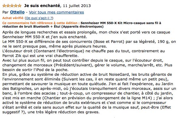 Promo du jour : Sennheiser MM 550 Kit Micro-casque sans fil à réduction de bruit Bluetooth