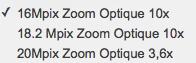 Avis et prix : Zoom Sony QX10 Wi-Fi/NFC
