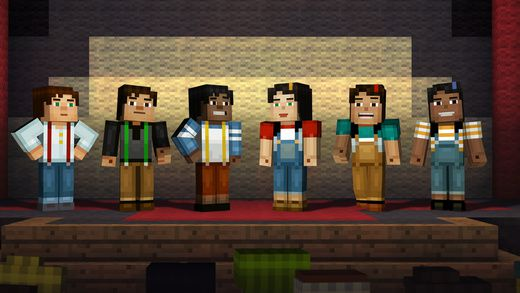 Minecraft : Story mode disponible sur iPhone et iPad !