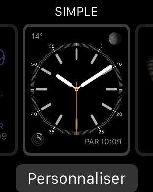Comment changer l'apparence de l'Apple Watch ?