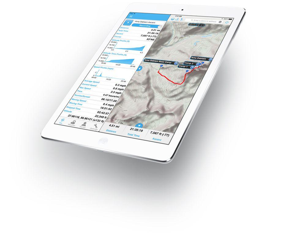 Avant d'escalader les plus hauts sommets du monde, n'oubliez pas votre...iPad
