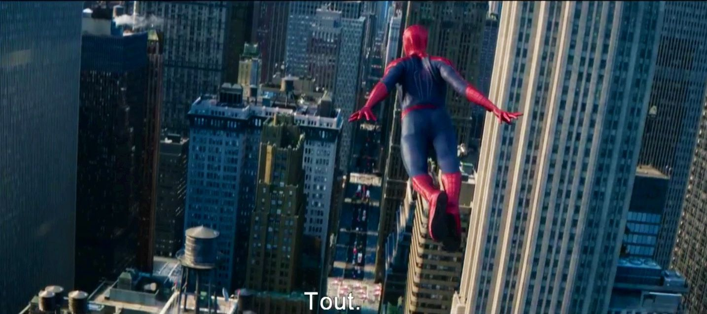 The amazing spiderman : le destin d'un héros (bande annonce finale)