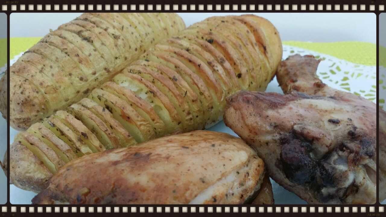 pommes de terre au four version su doise au poulet sonia 39 s cooking co. Black Bedroom Furniture Sets. Home Design Ideas
