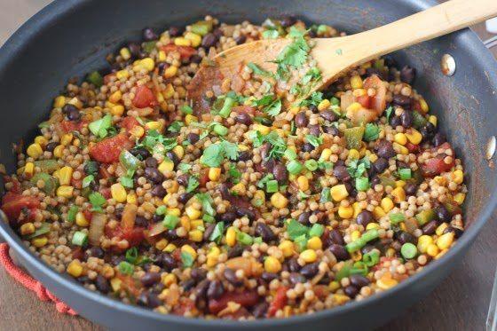 Recete couscous marocain et un idées de repas facile de legumes couscous
