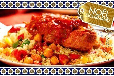 un bon couscous marocain maison
