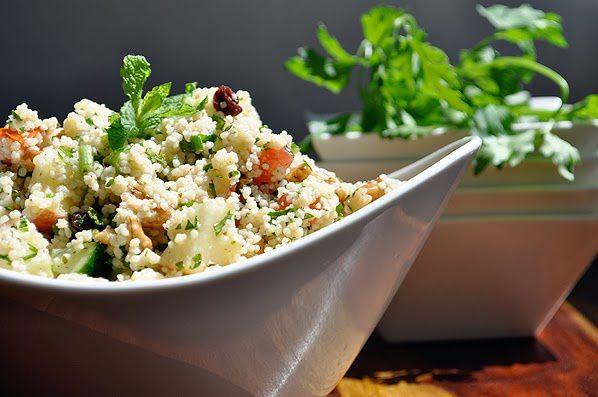 idee repas facile couscous marocain salad