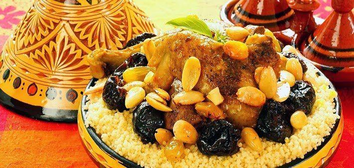 Le couscous marocain royal