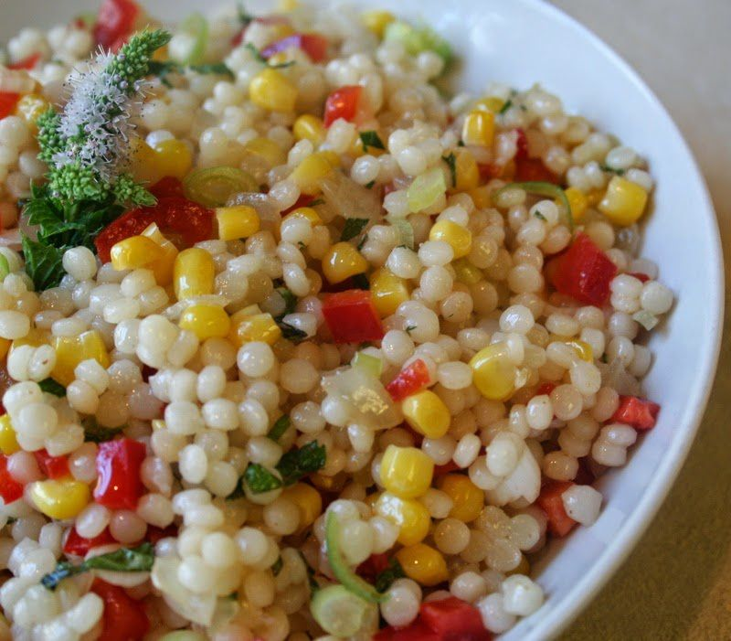 Salade de idee recette couscous marocain