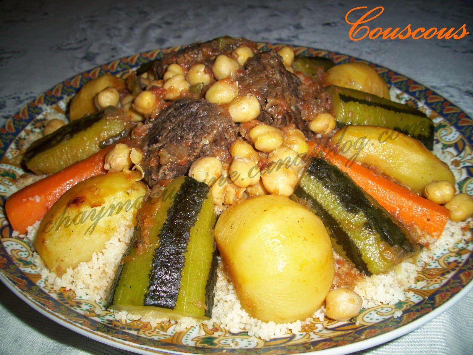 couscous marocain viande et poulet