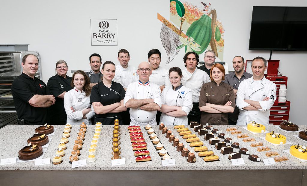 Chocolate Academy Masterclass in Montreal - Jean-Michel Perruchon (MOF pâtissier 1993).