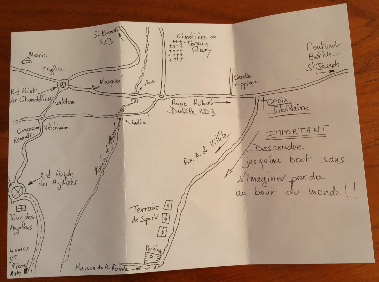 Plan d'accès site Sud APOI