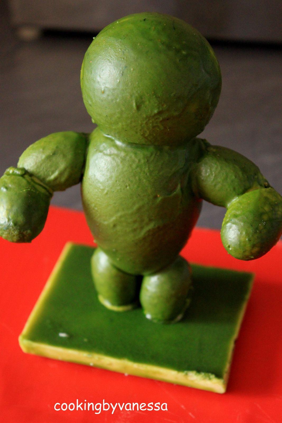 Ma tortue Ninja en chocolat