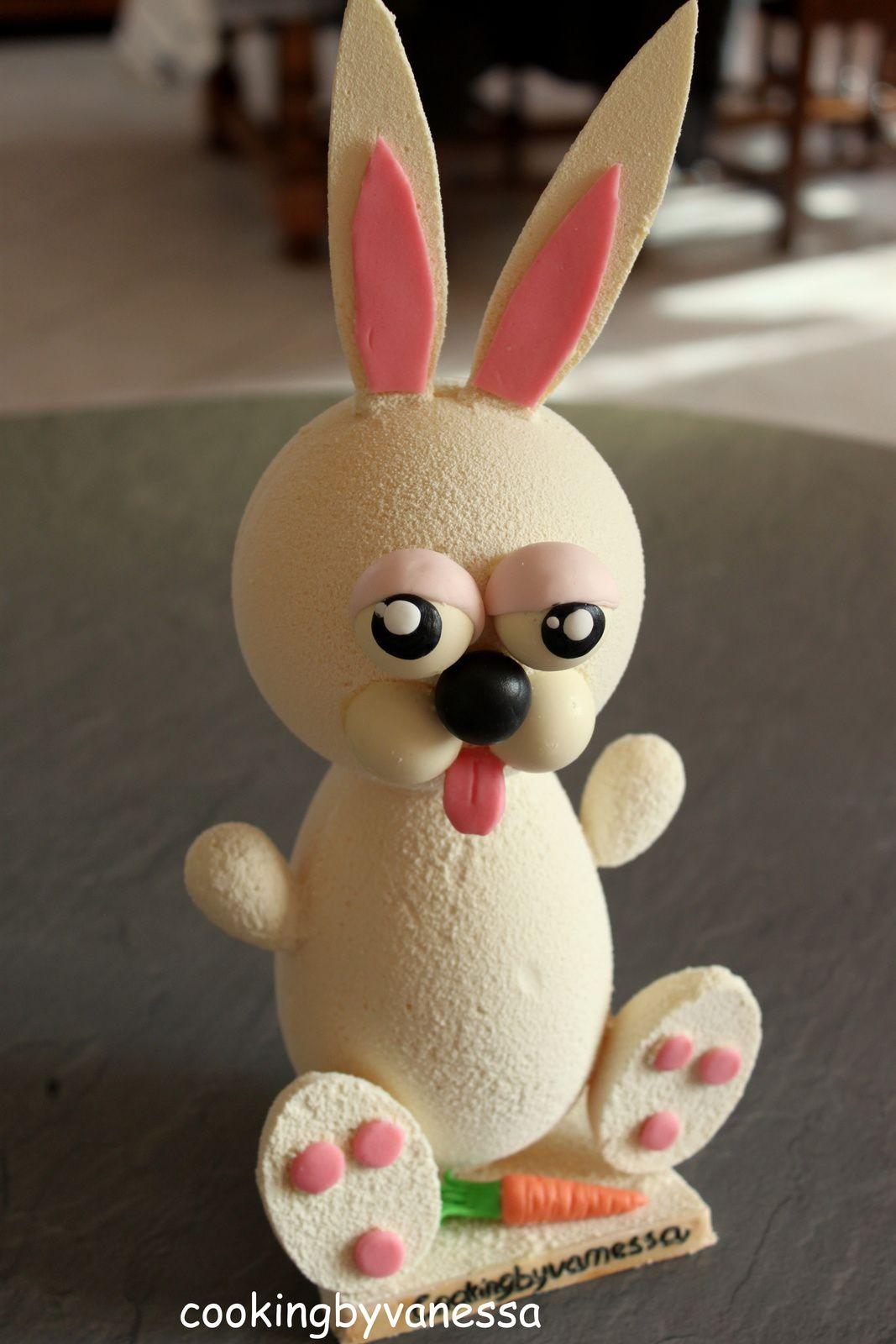 Mon lapin de PAQUES en chocolat