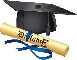 ( en attendant de recevoir mon vrai diplome)