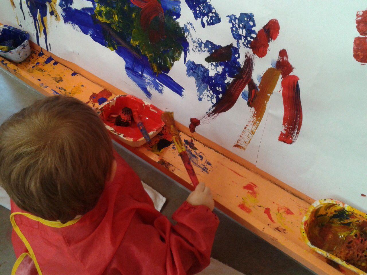 Peinture &quot&#x3B;murale&quot&#x3B; au Ram