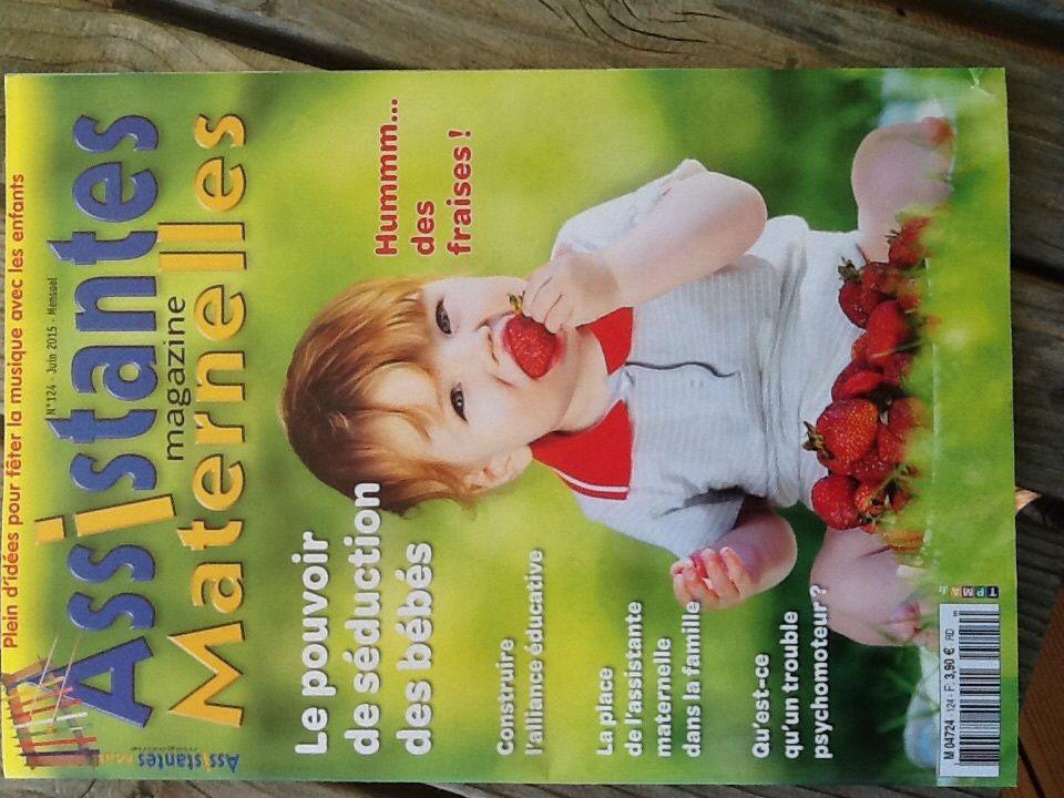Votre Nounou dans Assistante Maternelle Magazine